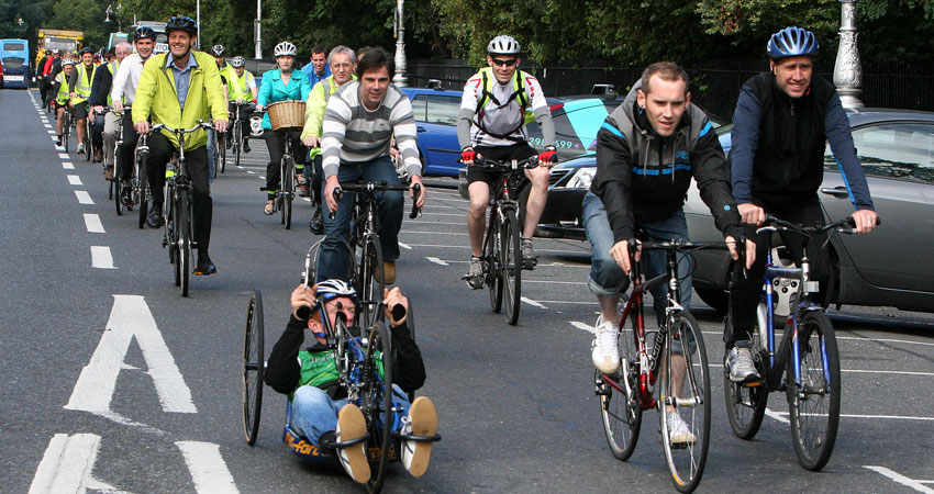 ESB Sustainable Cycling event in 2012 demonstrates our commitment to sustainable action within the organisation
